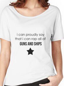 guns and ships Women's Relaxed Fit T-Shirt