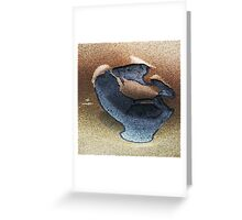 Chalk Beach Greeting Card