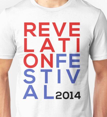 Stacked // Revelation Festival Unisex T-Shirt