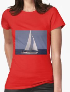A Sunny Sail Womens Fitted T-Shirt