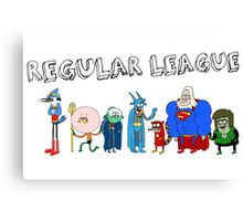 Regular League Canvas Print