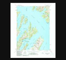 USGS TOPO Map Alaska AK Seward A-3 358869 1951 63360 Unisex T-Shirt