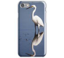 reflection bird iPhone Case/Skin