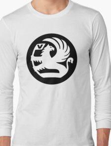 Vauxhall Badge WHT/BLK Long Sleeve T-Shirt