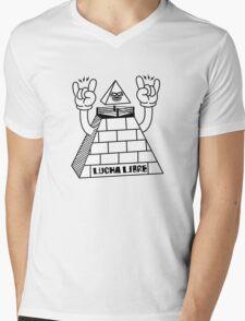 LUCHA-LIBRE Mens V-Neck T-Shirt
