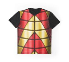 Superheroes - Red and Gold Graphic T-Shirt