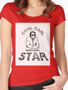 Cool Carl - Sagan  Women's Fitted Scoop T-Shirt