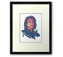 Agent May Framed Print