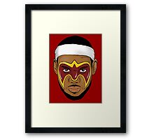 Lebron Greatness Ultimate Framed Print