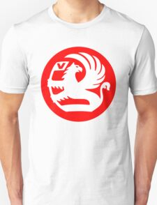 Vauxhall Badge RED/WHT Unisex T-Shirt