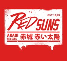 Initial D - RedSuns Tee (White Box) by Chad D'cruze