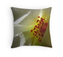The Inner Life of the Venice Beach rose 4 Throw Pillow