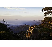 morning at shan-qing mountain Photographic Print