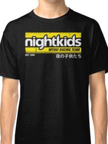 Initial D - NightKids Tee (White) Classic T-Shirt