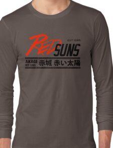 Initial D - RedSuns Tee (Black) Long Sleeve T-Shirt