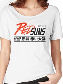 Initial D - RedSuns Tee (Black) Women's Relaxed Fit T-Shirt