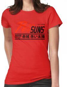 Initial D - RedSuns Tee (Black) Womens Fitted T-Shirt