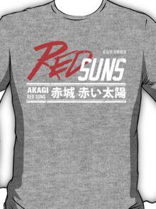 Initial D - RedSuns Tee (White) T-Shirt
