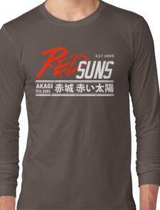 Initial D - RedSuns Tee (White) Long Sleeve T-Shirt