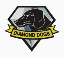Metal Gear Solid V - Diamond Dogs Badge Kids Clothes