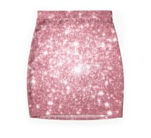 Pink Shimmer / Galaxy Stars Mini Skirt