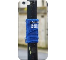 Tardis Street Art iPhone Case/Skin