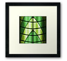Superheroes - Green Framed Print