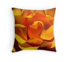 Inner Life of the Venice Beach Rose 1 Throw Pillow