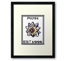 Starmie - OG Pokemon Framed Print