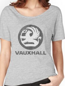 Vauxhall Distressed Badge Women's Relaxed Fit T-Shirt