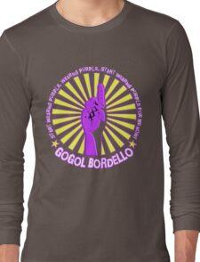 Gogol Bordello - Start Wearing Purple Long Sleeve T-Shirt
