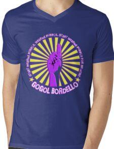 Gogol Bordello - Start Wearing Purple Mens V-Neck T-Shirt