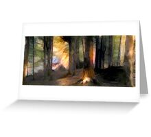 Into The Forest Greeting Card