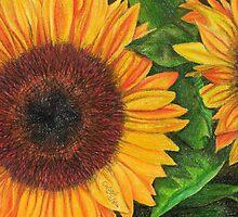 Sunflower Sketch by ChrisNeal