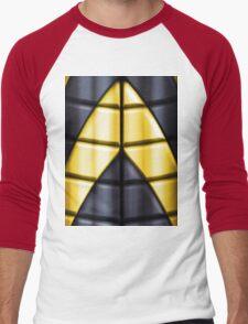 Superheroes - Black Yellow Men's Baseball ¾ T-Shirt