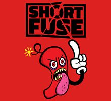 Short fuse angry red dynamite Unisex T-Shirt