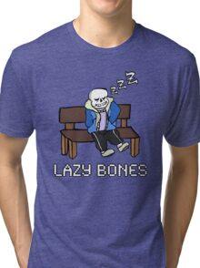 Lazy Bones- Undertale Sans Tri-blend T-Shirt