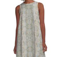 Petroglyphic Pearl A-Line Dress