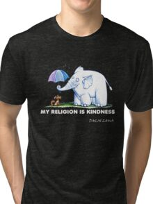 My Religion is Kindness Tri-blend T-Shirt