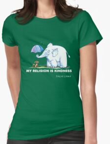 My Religion is Kindness Womens Fitted T-Shirt