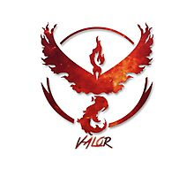 Pokemon GO | Team Valor Photographic Print