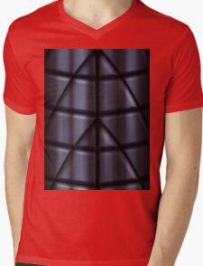 Superheroes - Black Mens V-Neck T-Shirt
