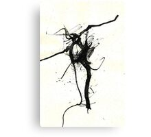 Ink Dance Canvas Print