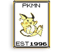 Raichu - OG Pokemon Canvas Print