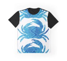 Three Crabs, tropical caribbean blue crabs Graphic T-Shirt