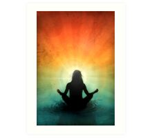 At Peace Within Art Print