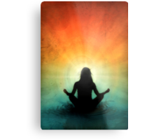 At Peace Within Metal Print
