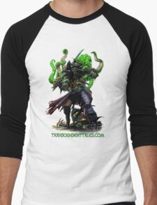 Zombie Pirate 2 Men's Baseball ¾ T-Shirt