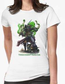 Zombie Pirate 2 Womens Fitted T-Shirt