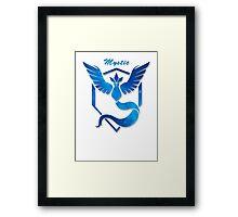 Pokemon GO |Team Mystic Framed Print